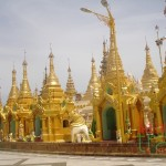 Pagoda in Yangon - Vietnam and Myanmar tour 7 days