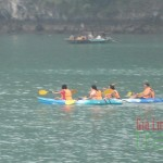 Kayaking in Ha Long Bay, Vietnam- Vietnam and Cambodia tour 12 days