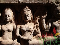 Statues in temple