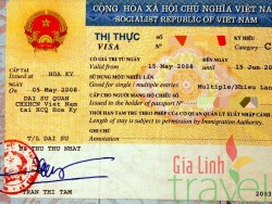 Vietnam visa multiple entries