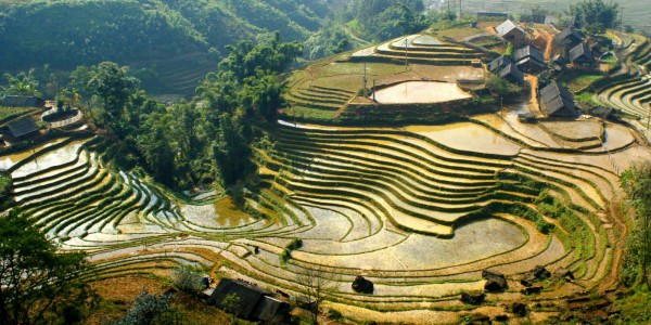 A moment of Sapa in Vietnam tour package