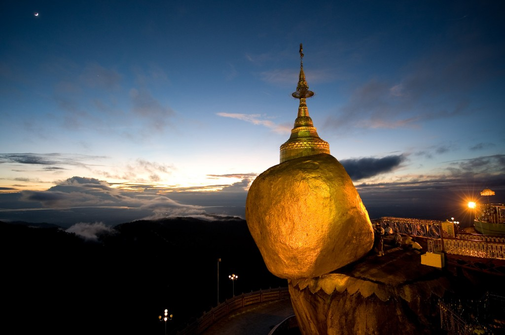 Top ten attractions in Myanmar holiday packages: Golden Rock