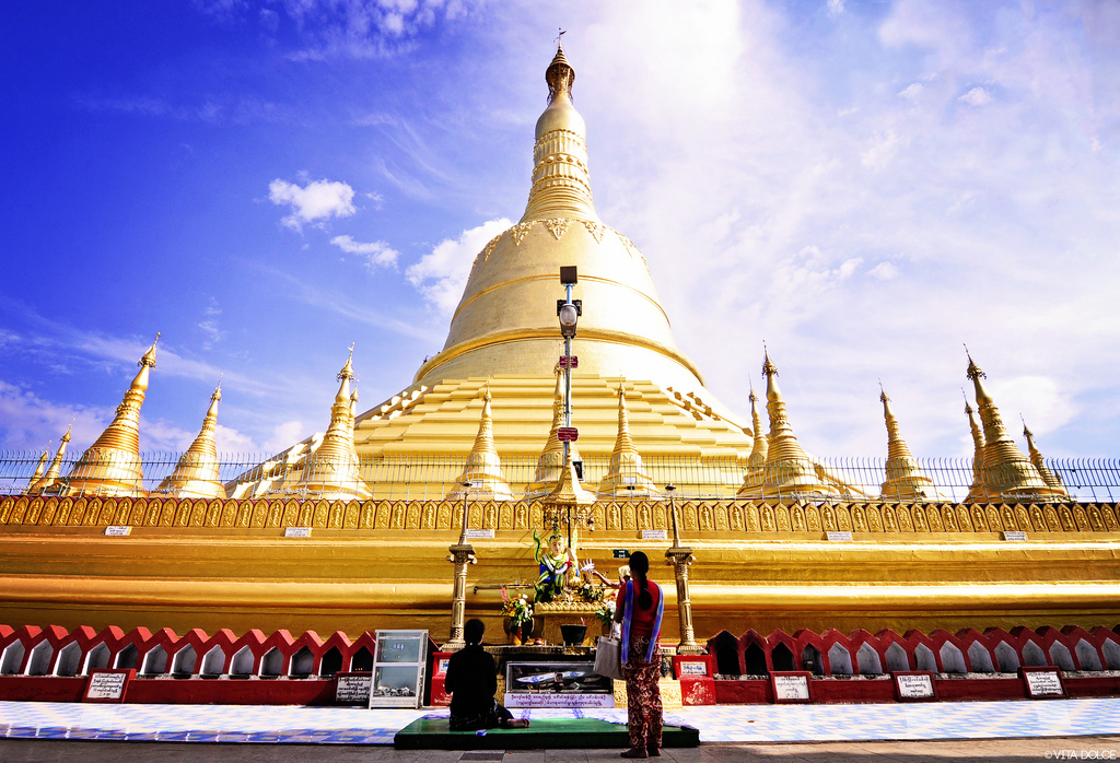 Top ten attractions in Myanmar holiday packages: Shwemawdaw Paya