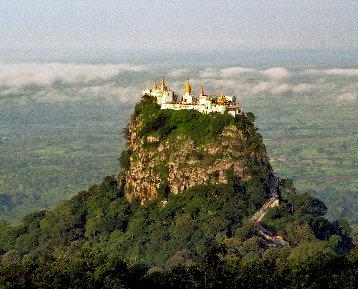 Top ten attractions in Myanmar holiday packages: Taung Kalat