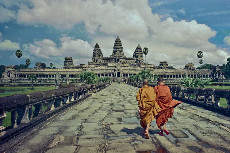 Angkor Wat - a destination in Cambodia tour