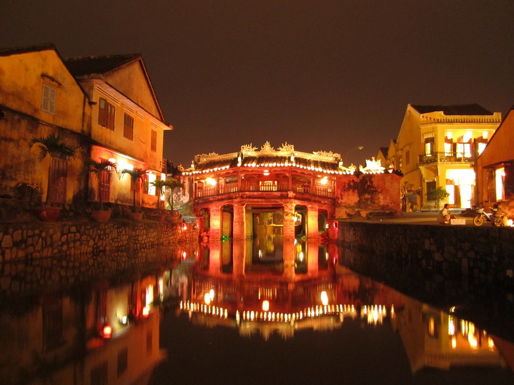 Hoi An on a holiday in Vietnam